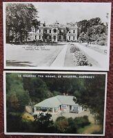 Guernsey Hostel St John Saumarez & Le Gouffre Vintage Postcard Channel Islands