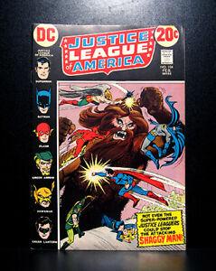 COMICS-DC-Justice-League-of-America-104-1973-Shaggy-Man-app-RARE