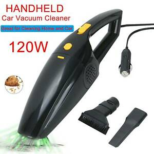 Portable-Handheld-Vacuum-Cleaner-Car-Home-Wet-amp-Dry-Rechargeable-Black