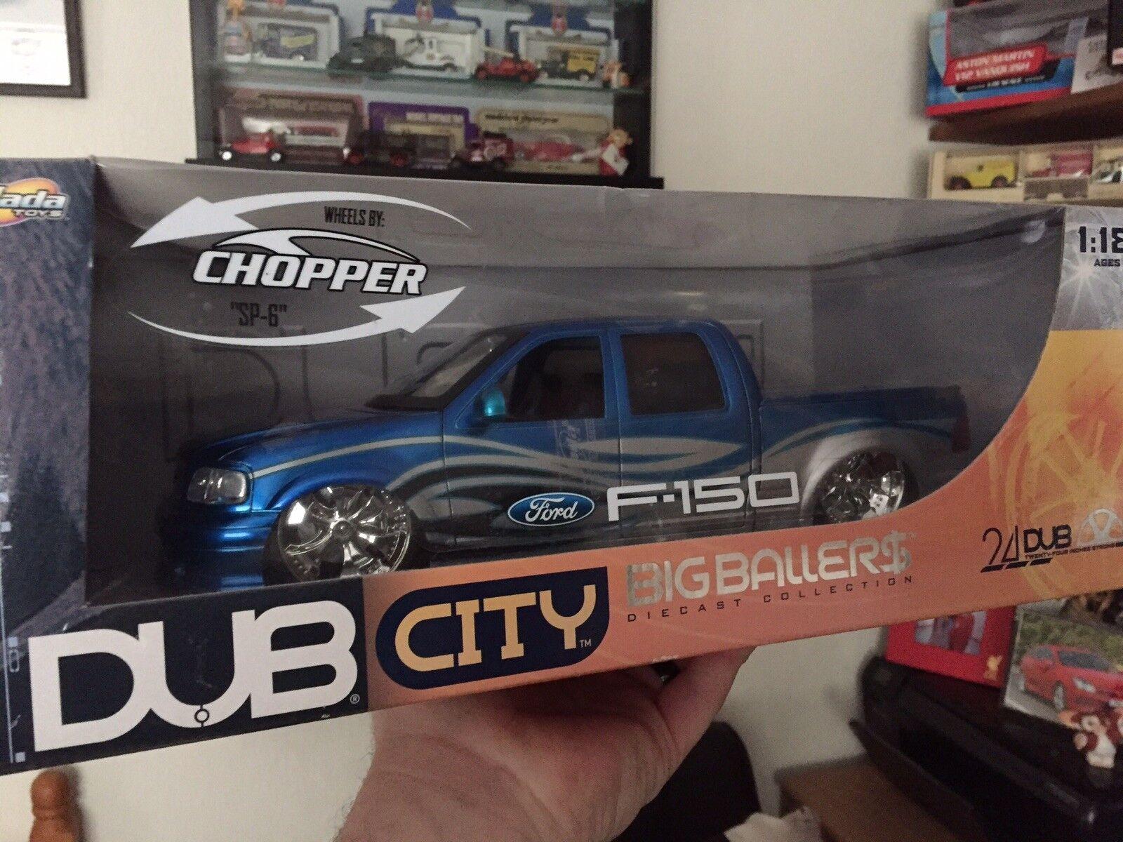 1 18 Dub City Big Ballers Ford F-150