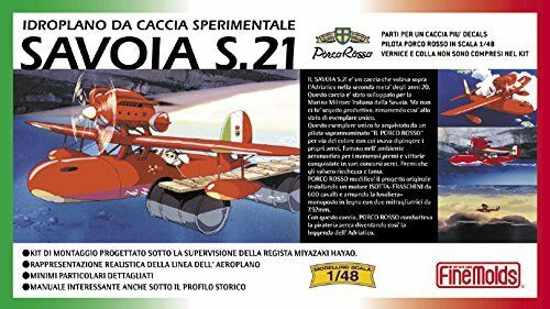 NEW SAVOIA S.21 Fine Molds 1//48 PlasticModelKit FG1 Stadio Ghibli Porco Rosso