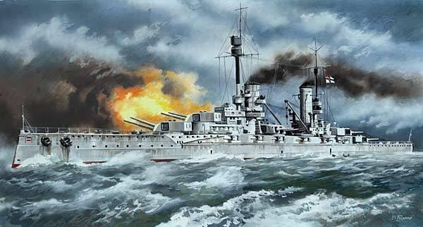 ICM 1 3 50 S003  Battle Ship   Kronprinz   WWI