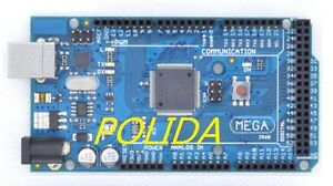 1PCS  New ATmega2560-16AU Board with USB Cable For ARDUINO's IDE MEGA 2560