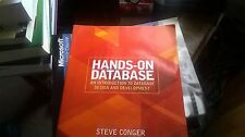 Textbook Conger Hands-on database an introduction to