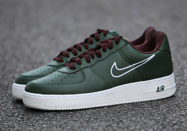 top quality cost charm latest design NIKE Air Force 1 Low Retro Multi Sizes Hong Kong Deep Forest/White 845053  300