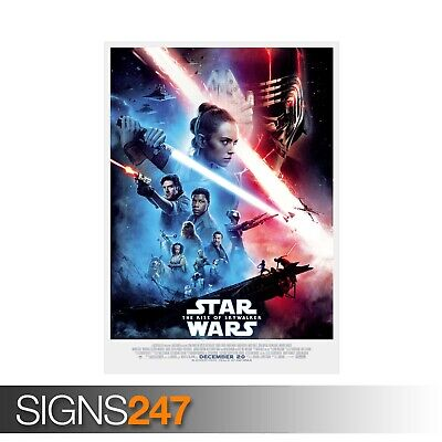 STAR WARS RISE OF SKYWALKER POSTER MOVIE POSTER Photo Poster Print Art ZZ082
