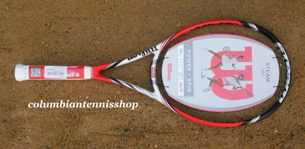 Nuevo Wilson Blx Steam 99S Spin 16X15 Sensor Inteligente de tenis listo Petra kivotova