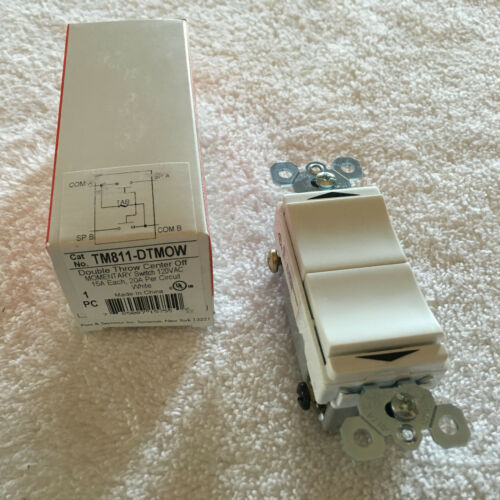 WHITE PASS /& SEYMOUR TM811-DTMOW COMBO DECORATOR MOMENTARY CONTACT SWITCH
