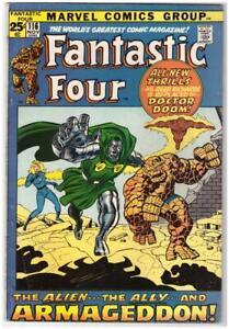 Fantastic-Four-116-Square-Bound-Marvel-Comics-1971-Fine-Plus-6-5