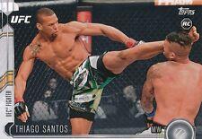 #206 THIAGO SANTOS 2015 Topps UFC Chronicles RC