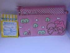 Sanrio Original Classic My Melody Pencil Accessory Bag 2008 2 In 1 School Pouch