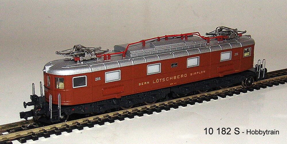 Hobbytrain 10182s-e-Lok AE 6/8 BLS 8-achsig Marrone 206 2 Pantos, Ep. II Sound