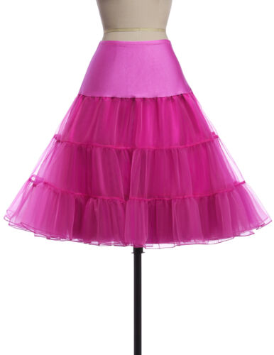1950/'s petticoat retro knee-length tulle prom short vintage underskirt fashion