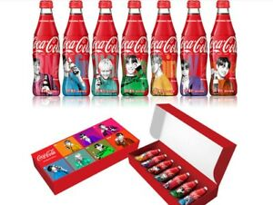 Coca Cola BTS Special Package Coke Can and Plastic Bottle Member SET LTD BTS