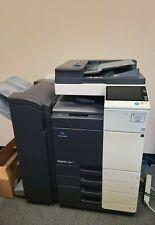 Konica Minolta Bizhub C308 Color Copier Printer Scanner With Fs 534 Finisher