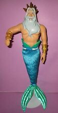Disney Store King Triton Little Mermaid Dad Father Doll Barbie Size OOAK or Play
