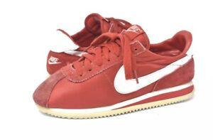 new product e814c f411c Image is loading Vintage-1990-Nylon-Suede-Nike-Cortez