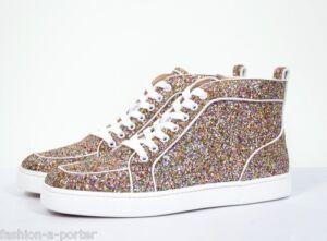 basket louboutin glitter