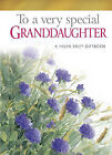To a Very Special Granddaughter by Pam Brown (Hardback, 2008)