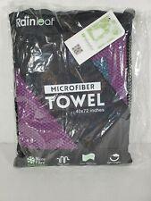 Set of 3 Rainleaf Microfiber Towel 40x72 inches X Large Versatile Use