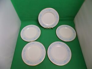 Royal-Doulton-Hampton-Court-Salad-Plates-x-5