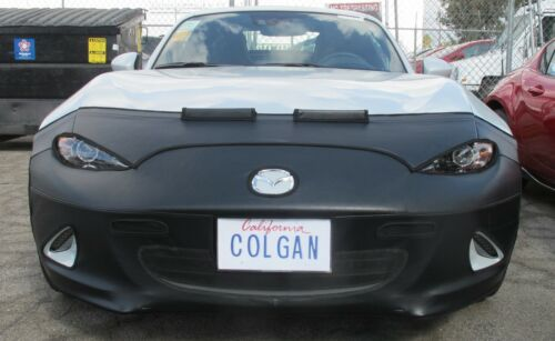 Colgan Front End Mask Bra 2pc.Fits Mazda Miata MX-5 Sport,Grand,RF 2016-18 LIC