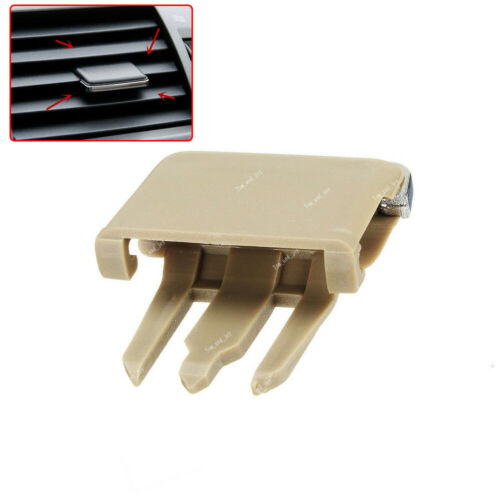 Qty 2 Beige Auto Air Conditioning A//C Vent Blade Slice Clip For Toyota Corolla