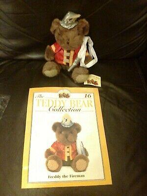Instancabile Il Teddy Bear Collection Magazine N. 16 + Freddy Il Pompiere-mostra Il Titolo Originale