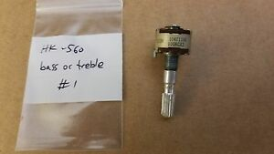 Harman Kardon HK-560 receiver bass or treble control potentiometer 22035653