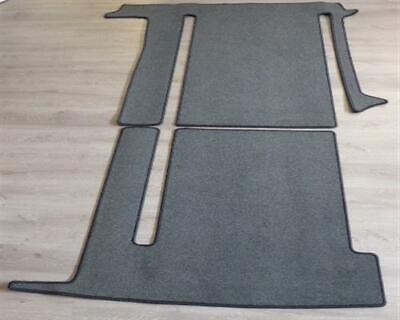 Gastraum und Kofferraum Teppich Fußmatte für VW T5 T6 California Comfortline