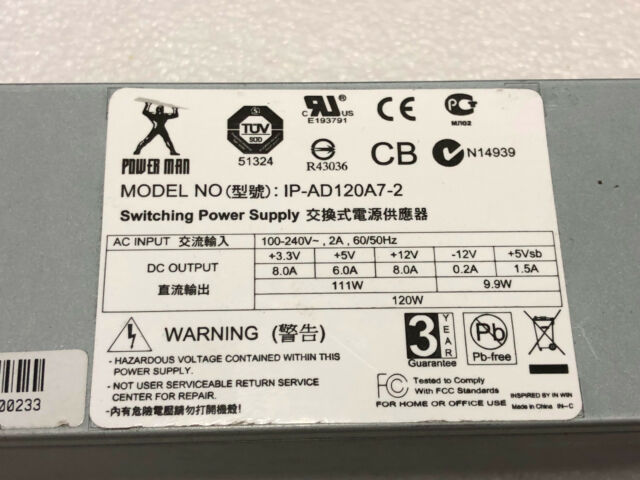 """Replacement Power Supply for 5V 2A 2000mA 7/"""" Eken T10 Android Tablet HS"""