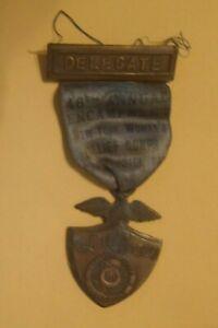 GAR Delegate 46th Annual Encampment New York Woman's Relief Corps 1929 Medal