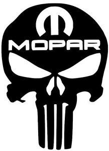 Mopar Dodge Punisher Diesel Truck Car Sticker Decal Vinyl Ram