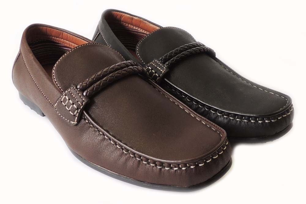 NEW POLAR FOX MENS LOAFERS COMFORT DRIVING MOCCASIN SLIP ON FLATS CASUAL SHOES