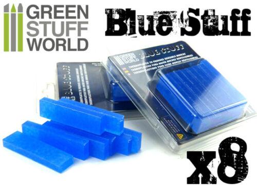 Materiale BLUE STUFF (8 pezzi) per fare Stampi Riutilizzabili