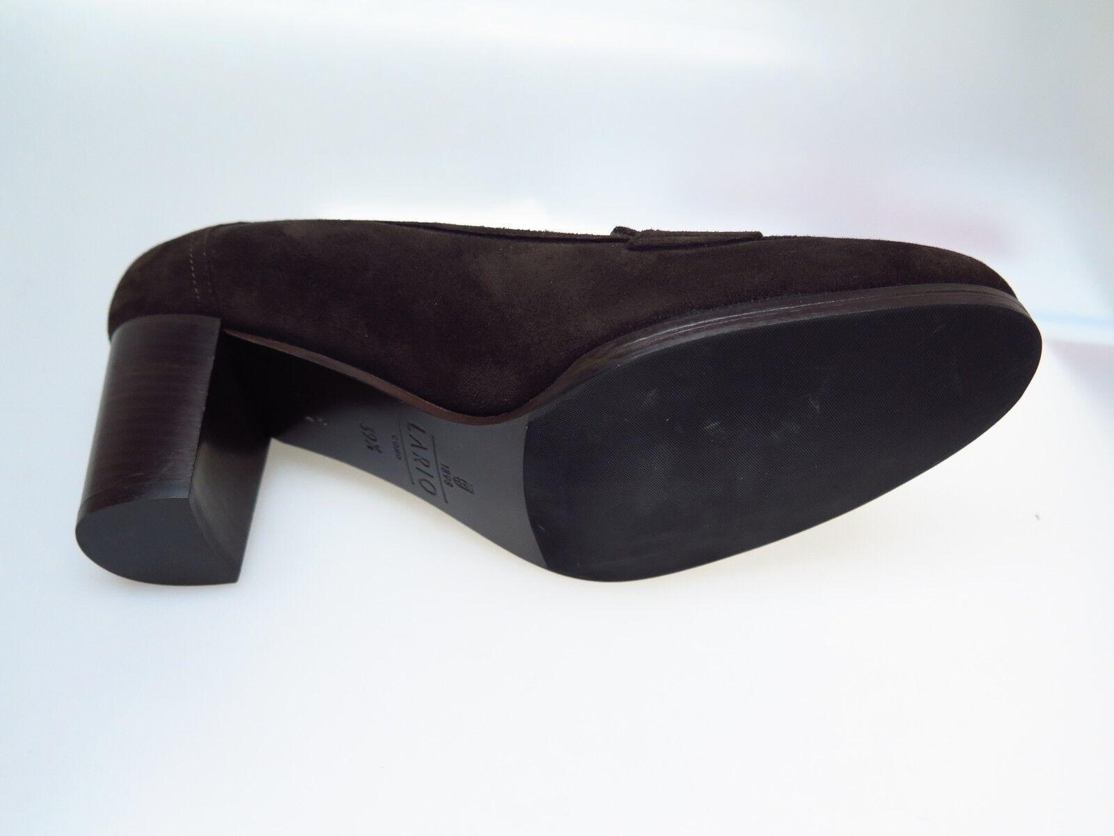 LARIO COMO Fell 1898 Designer Damenschuhe LA L6351 Camoscio Assuan Fell COMO Gr. 39,5 NEU c08817
