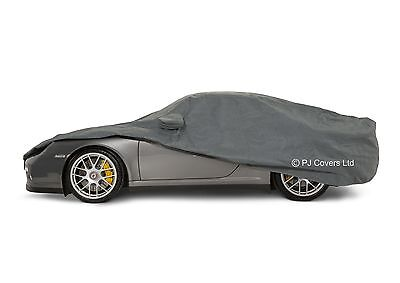 QUALITY WATERPROOF CAR COVER PORSCHE BOXSTER 981 HEAVY DUTY COTTON LINED SIZE L