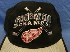 1998 Stanley Cup Champions DETROIT RED WINGS Cap NHL Hockey Hat Yzerman Shanahan