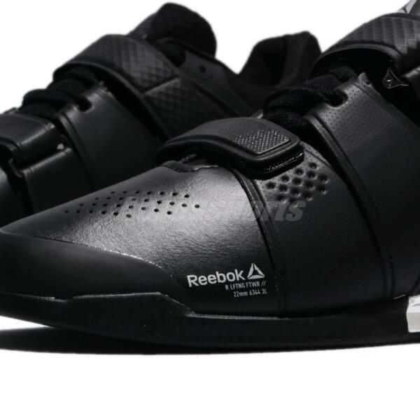 5eb715adab9 Hover to zoom · Reebok Legacy Lifter Black Silver Men Weightlifting CrossFit  Training CN1002