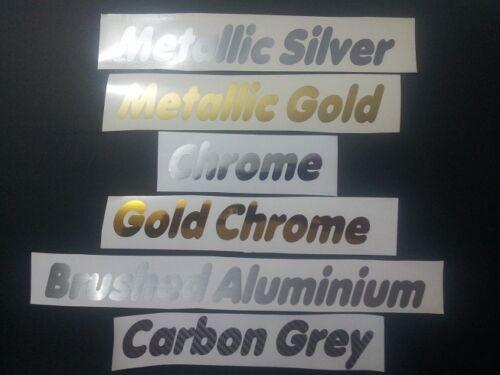 Metallic Gold Ducati double line vinyl sticker decal