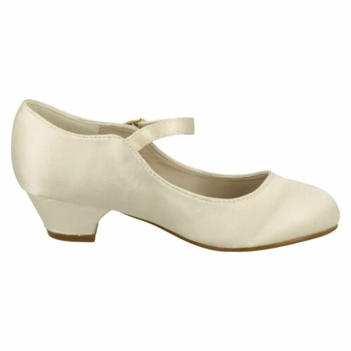 GIRLS SPOT ON WEDDING//PARTY SHOES H3020 3 COLOURS