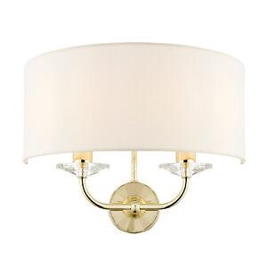 liberee-Nixon-2LT-Lampe-Murale-40W-cuivre-effet-ASSIETTE-amp-blanc-millesime