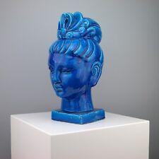 Kwan Yin Bitossi Rosenthal Head Sculpture - RARE