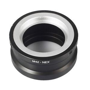 To-Sony-M42-NEX-E-mount-Camera-Adapter-Ring-NEX5-NEX6-NEX7-Alpha-A3500