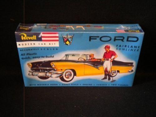Revell Ford Fairlane Sunliner model kit new in the box