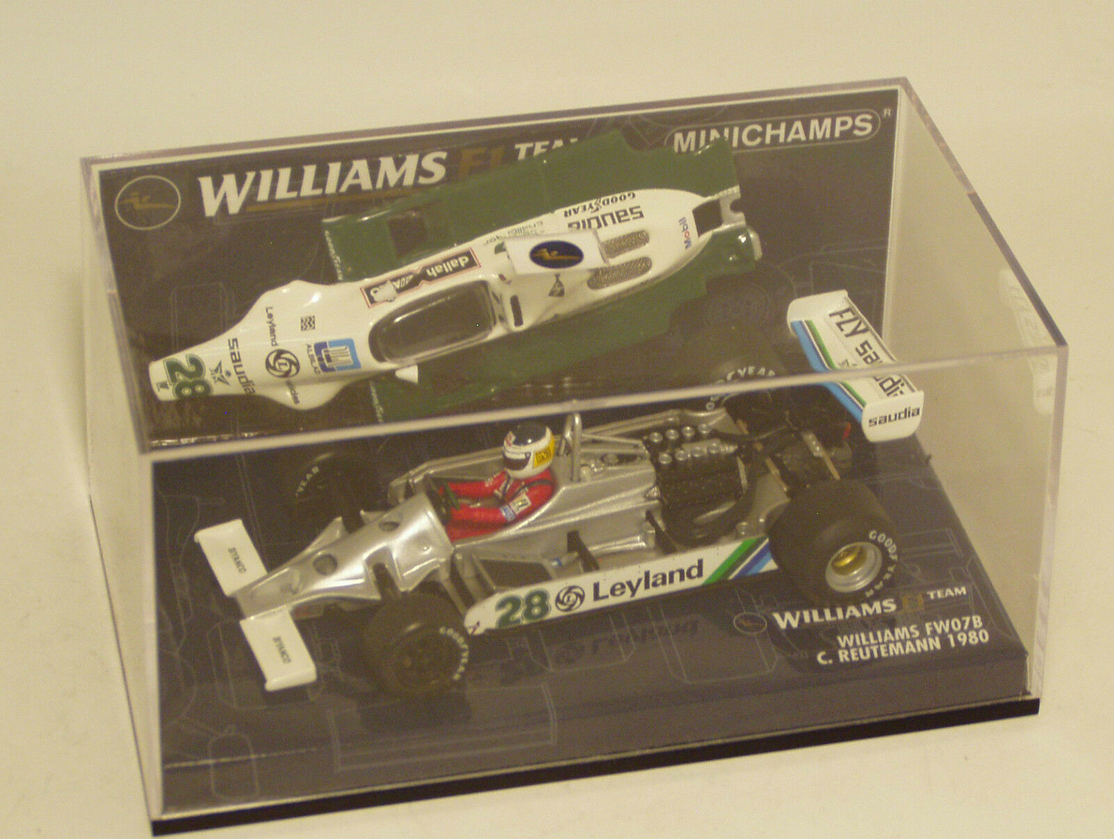 1 43 Williams  FW07B Tag Saudia Leyland 1980 voitureLOS REUTEhommeN  économiser 50% -75% de réduction