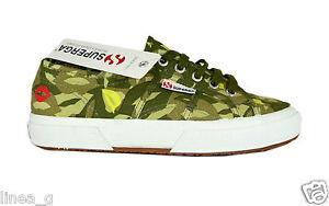 SUPERGAFIORUCCI canvas sneakers SS scarpe basse in tela verde militare P/E 2011