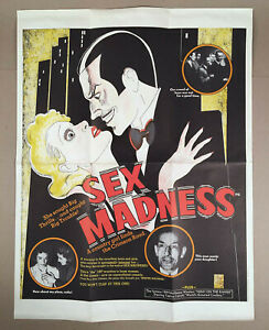 SEX-MADNESS-CULT-MOVIE-POSTER-18-5x24-New-Line-Cinema-1973-Release-orig-1938