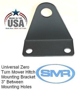 "ZTR BH Universal Zero Turn 3//4/"" pin hole Mower Trailer// Tow Hitch 4/""//6/"" mt"