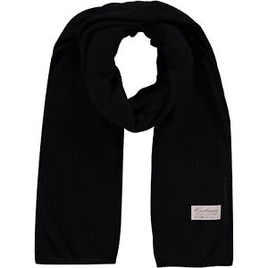 9502ae43f626 KURT BEINES Black Wool and Cashmere Blend Scarf - Made in Italy   eBay
